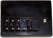 Example of an old style fusebox